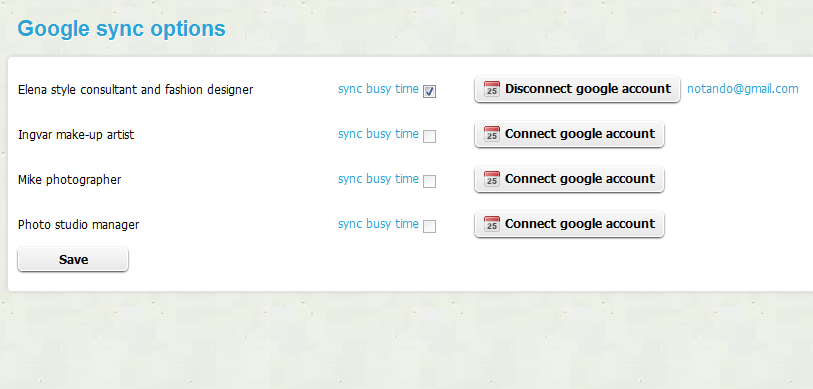 Set up the Google Calendar plugin