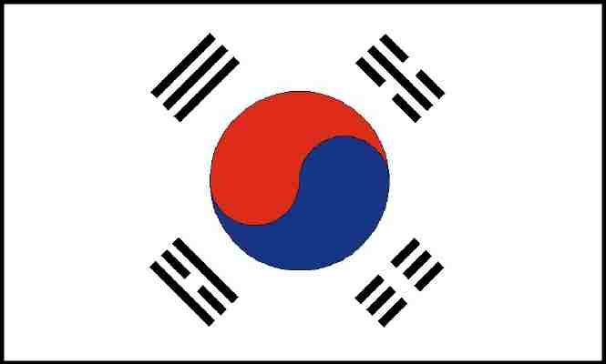 Booking system now available in korean - Picture of a korean flag ...