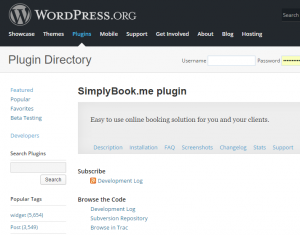 SimplyBook.me now offers a native free premium appointment booking plugin for WordPress.